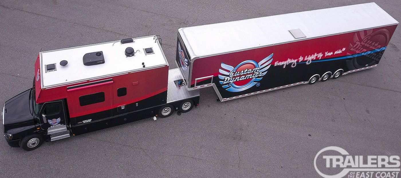 A new Freightliner Big Rig will debut this Fall Rally season at Delmarva Bike Week (later this month)!
