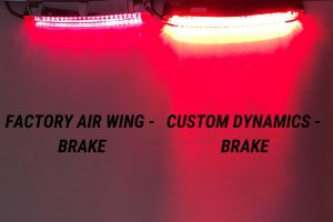 Factory Air Wing v. Custom Dynamics Air Wing Light Bar Illuminated High Intensity