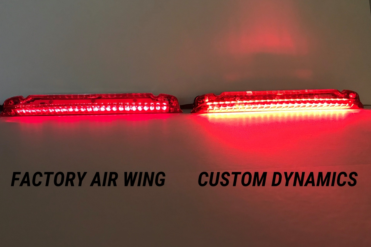 Factory Air Wing (Left) v. Custom Dynamics (Right)