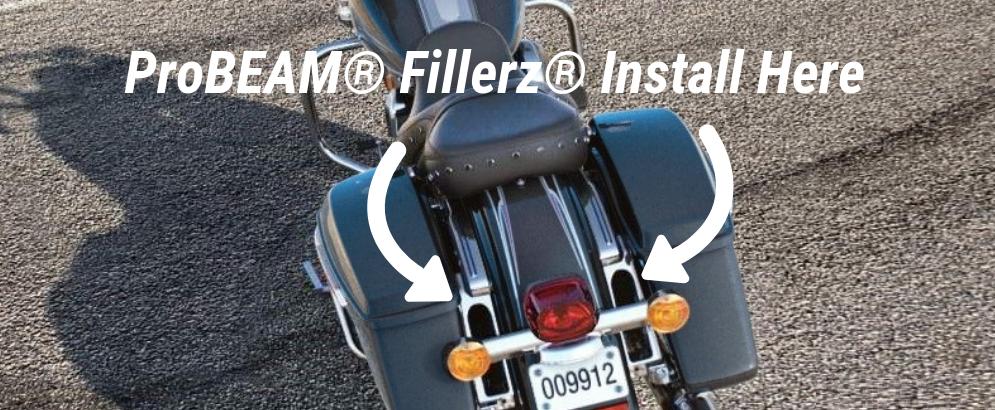 Turn Signal Eliminator Kit - Motorcycle LED Turn Signals