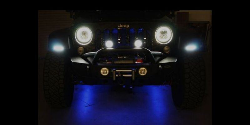 Jeep Lights: LED Headlights, LED Light Bars, LED Halo Fog Lights