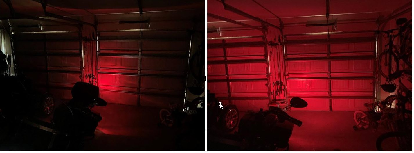 Custom Dynamics Rear LED Lighting compared to stock/OEM lighting on Harley Davidson