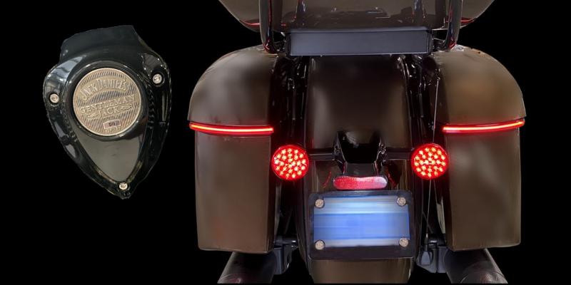 Jack Daniels Indian® Roadmaster: Motorcycle LED Lighting